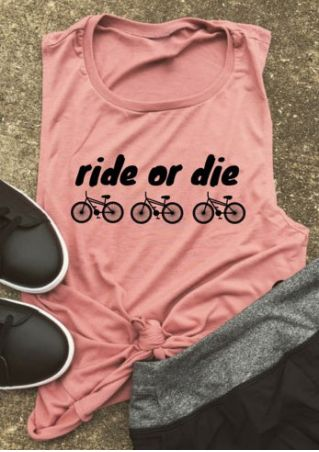 Ride Or Die Bike Tank