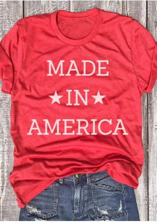 Made In America O-Neck T-Shirt