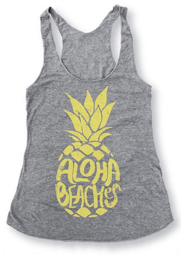 Aloha Beaches Pineapple Tank thumbnail