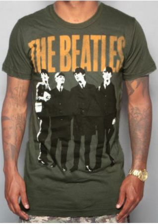 The Beatles O-Neck Short Sleeve T-Shirt