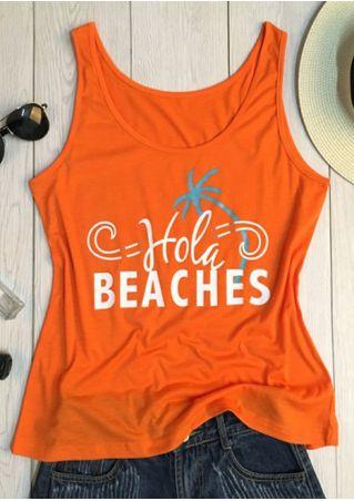 Hola Beaches O-Neck Tank