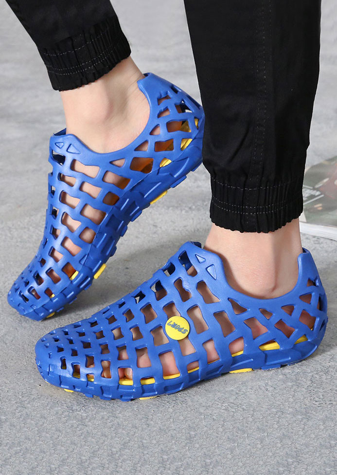 Summer Hollow Out Flat Sandals Fairyseason
