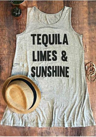 Tequila Limes & Sunshine Tank