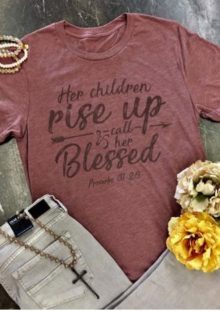 Rise Up & Call Her Blessed T-Shirt