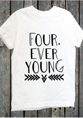 Four Ever Young O-Neck T-Shirt