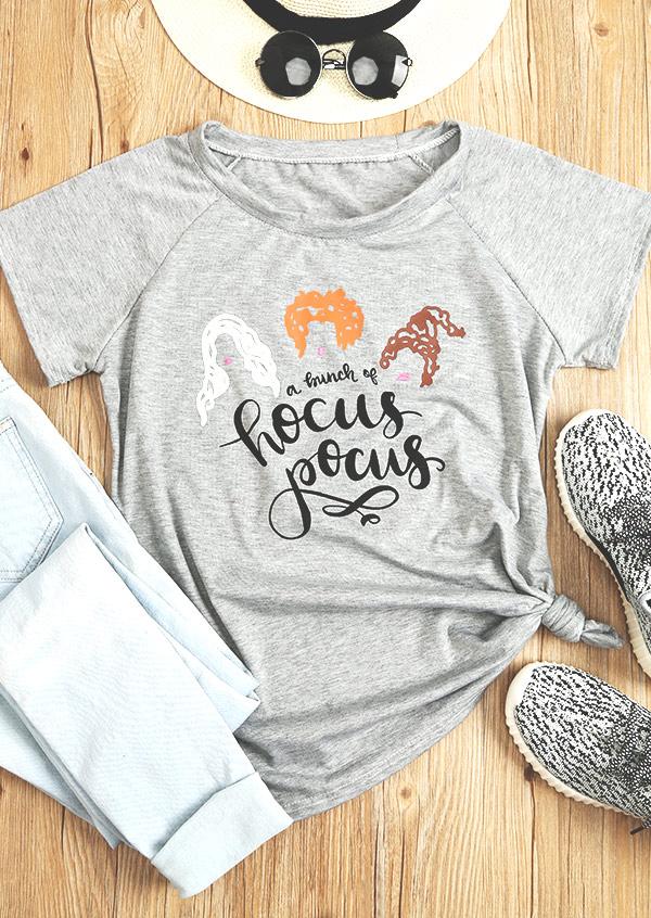 A Bunch Of Hocus Pocus T Shirt Fairyseason