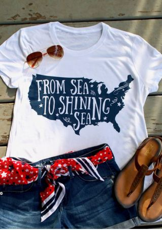 From Sea To Shining Sea T-Shirt
