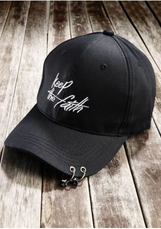 Keep The Faith Embroidery Baseball Hat