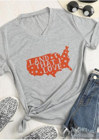 Land That I Love O-Neck T-Shirt