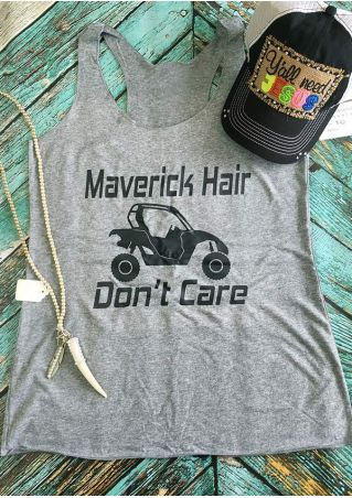 Maverick Hair Don't Care Tank