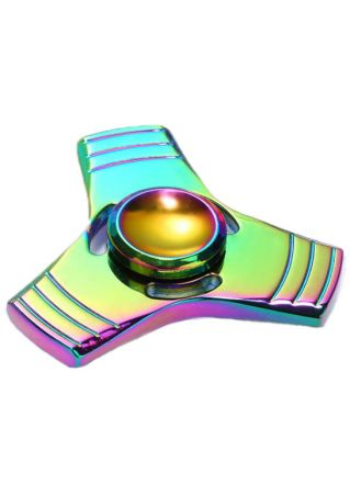 Triangle Colorful Finger Fidget Spinner