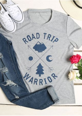 Road Trip Warrior O-Neck T-Shirt