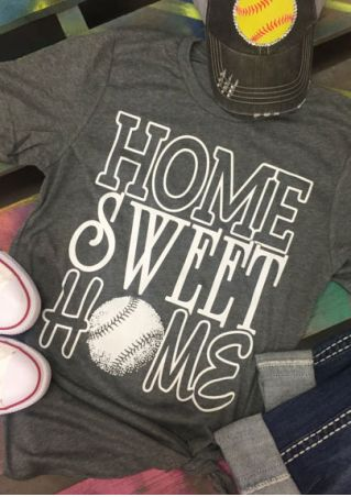 Home Sweet Home Baseball T-Shirt
