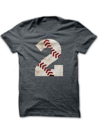 2 O-Neck Short Sleeve T-Shirt