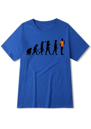 The Big Bang Theory Evolution T-Shirt