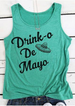 Drink-o De Mayo Hat Tank Drink-o