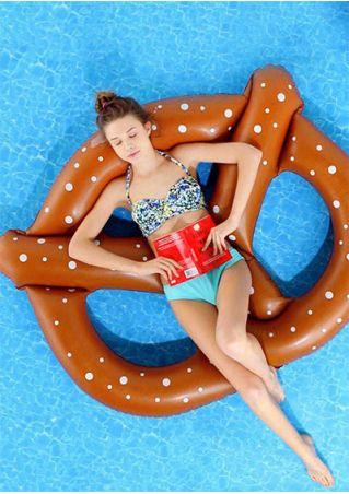 Polka Dot Inflatable Float