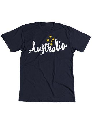 Australia Printed Short Sleeve T-Shirt