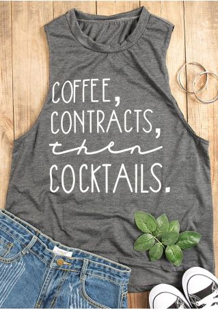 Coffee Contracts Then Cocktails Tank