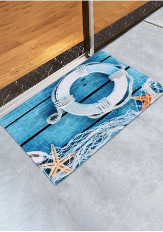 Buoy Starfish Rectangle Antislip Floor Rug