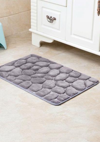 solid rectangle antislip bath rug fairyseason. Black Bedroom Furniture Sets. Home Design Ideas