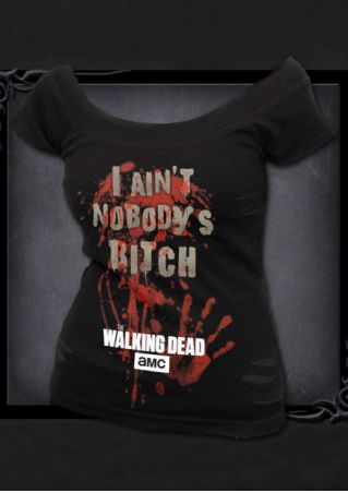 The Walking Dead O-Neck T-Shirt The