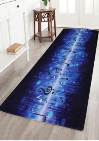 Music Note Floor Rug
