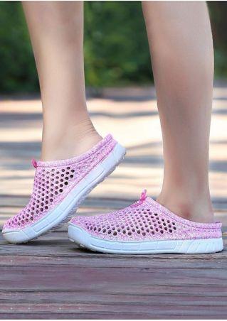 Summer Hollow Out Flat Sandals