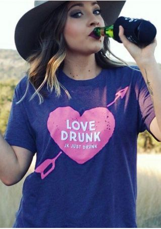 Love Drunk Arrow Heart T-Shirt
