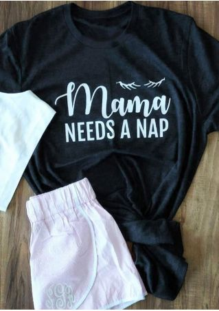 Mama Needs A Nap T-Shirt