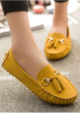 Round Toe Casual Flats