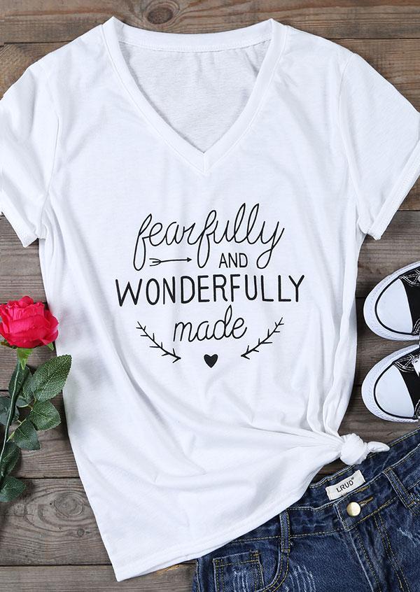 Fearfully And Wonderfully Made T Shirt Fairyseason