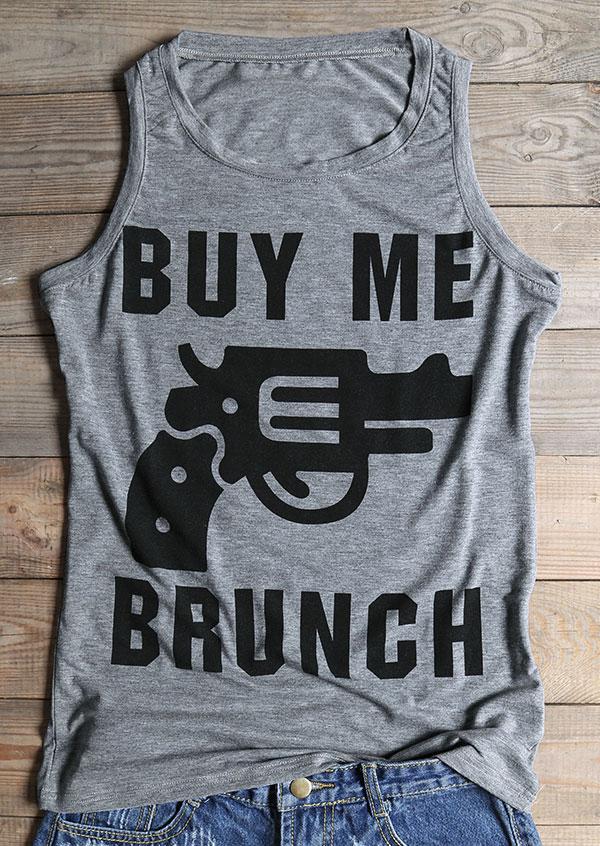 Buy me brunch revolver printed tank fairyseason for Buy me brunch shirts