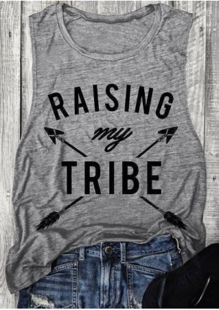 Raising My Tribe Arrow Tank