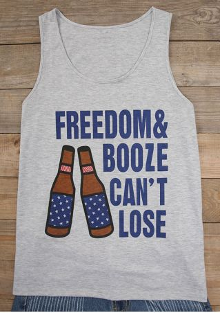 Freedom & Booze Can't Lose Tank