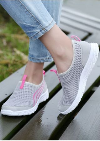Round Toe Breathable Sneakers