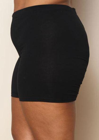 Image of Solid Elastic Waist Safety Underwear