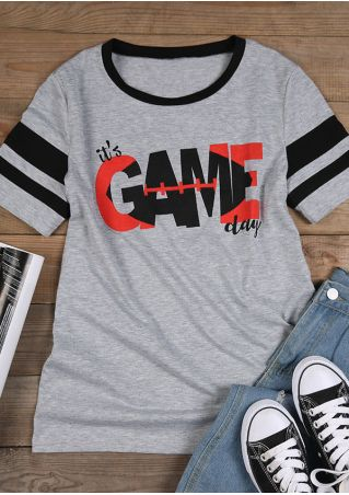 It's Game Day O-Neck T-Shirt