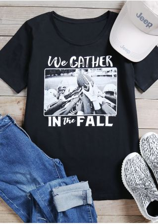 We Gather In The Fall T-Shirt