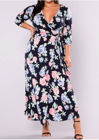 9347629b12f Plus Size Solid Tie Off Shoulder Casual Dress.  19.79. QUICK VIEW. Plus Size  Floral Maxi Dress without Necklace