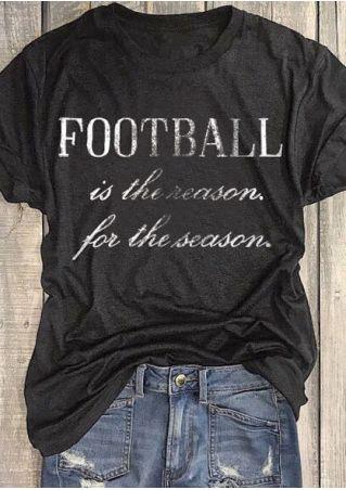 4c177b5723c101 Football Is The Reason For The Season T-Shirt