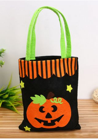 Halloween Applique Star Candy Bag