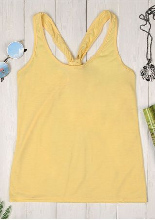 Solid Knot O-Neck Tank