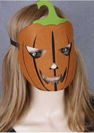 Halloween Pumpkin Face Felt Mask