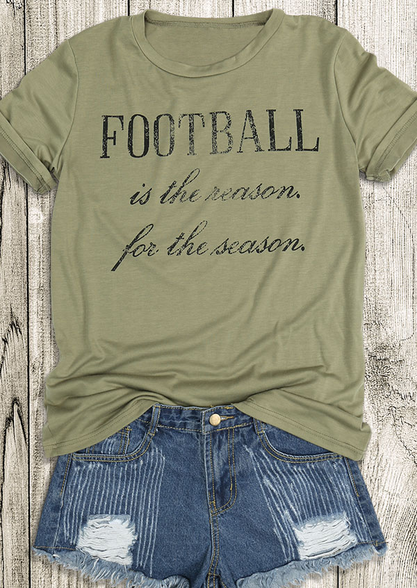 Football Is The Reason For The Season T Shirt Fairyseason