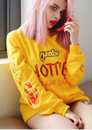 Cheetos Hottie Drawstring Pocket Hoodie