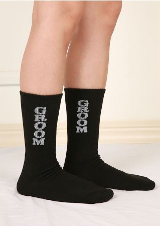 Groom Warm Comfortable Socks