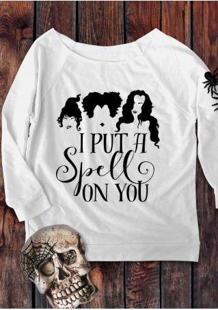 Halloween Hocus Pocus O-Neck Sweatshirt