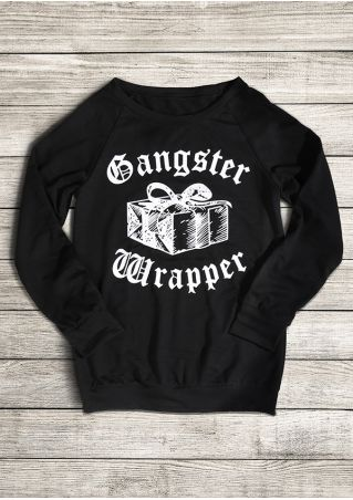 Gangster Wrapper Long Sleeve Sweatshirt