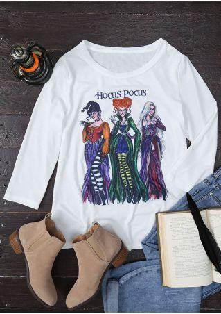 Halloween Hocus Pocus Sanderson Sisters T-Shirt